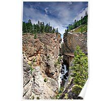 Sinclair Canyon, Kootenay NP, BC, Canada Poster