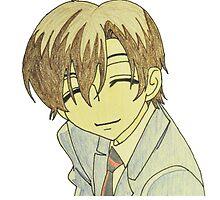 Haruhi Fujioka smiling in uniform by merelyAdreamer