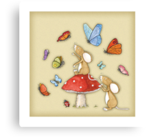 A Flutterby Canvas Print