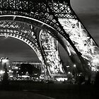 Eiffel Tower, Paris by Cristy Warnock