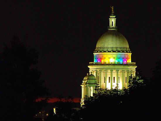 Providence State House dome by iheartrhody