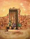 The Door - In Acrylic by teresa731