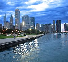 Chi-Town Skyline by Kam Johnson