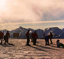 Revellers at Kicking Horse by Ryan Davison Crisp