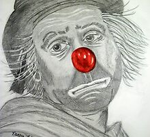 Sad Clown by Norma Jean Lipert