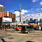 King & Spadina Panormaic by Michael Harvie