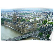 Westminster, London England Poster