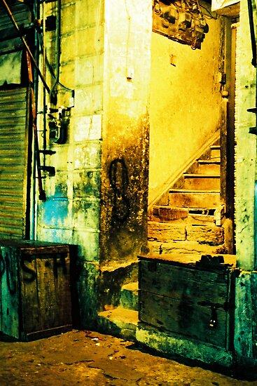 Street Corner by Maliha Rao