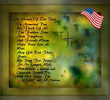 MEMORIAL DAY TRIBUTE..HOPES OF PEACE by Sherri     Nicholas