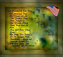 MEMORIAL DAY TRIBUTE..HOPES OF PEACE by Sherri     Nicholas