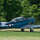 1943 North American SNJ-4 by Robert Burdick