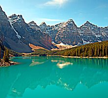 Moraine Lake, Alberta, Canada by Laurast