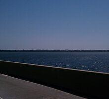 Crossing Toll Bridge Into Destin, FL by Charldia