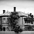 "'Tivey Mansion', or ""Nimmitabel"". Inglewood, Victoria by Julie Sleeman"
