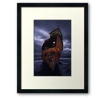 Ghost Ship  - Motueka, New Zealand Framed Print