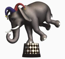 Circus Elephant by Rivendell