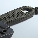 Utility OD Paracord Weave by Glenn Cecero