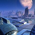 Stargate City by blacknight