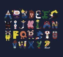 Gamer's Alphabet Kids Clothes