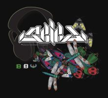 Seied - Bugz In My Headphonez Official Merch by David Avatara