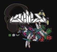 Seied - Bugz In My Headphonez Official Merch by David Avatara
