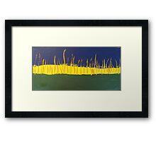 A Simple Landscape Framed Print