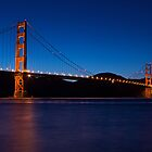 Night Bridge by Brian Leadingham