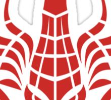 Zodiac Sign Scorpio Red Sticker