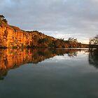 MURRAY RIVER SUNSET by another-paul