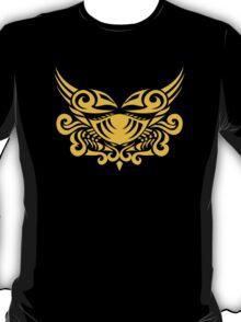 Zodiac Sign Cancer Gold T-Shirt