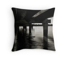 Life under the Pier Throw Pillow