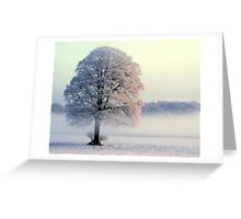 """SERENITY OF OAKEY"" Greeting Card"