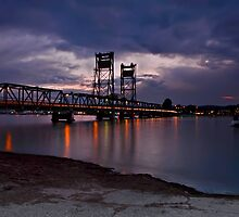 Clyde River Bridge, #2 by bazcelt