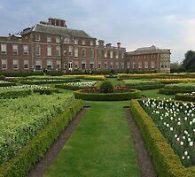 An English Country House With Majestic Landscaped Gardens by miradorpictures