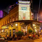 Australian Hotel, The Rocks, Sydney by Erik Schlogl