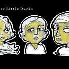 Three Little Ducks  (4 x 11cm) by limerick