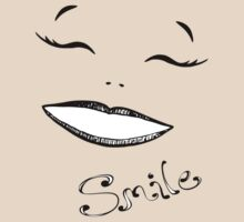 Glamour Girl Smile T by Sarah Trett