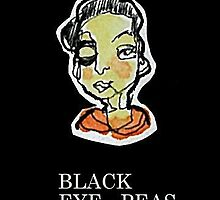 Black Eye - Peas   (1 x 2.5cm) by limerick