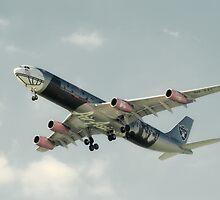 Air Asia X by Nigel Bangert