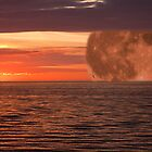 Baltic Sunset Moonrise  by JonnisArt