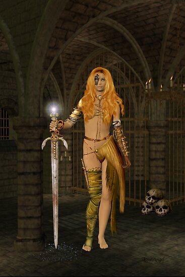 Queen Gedren .. Sorceress by LoneAngel