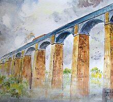 Pontcysyllte Aqueduct. by Joe Trodden