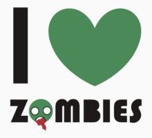 I <3 ZOMBIES by MicroSquirrell