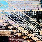Pueblo Downtown Fire Escape by Lenore Senior