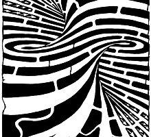 Tornado maze by Yonatan Frimer