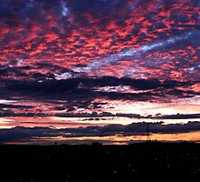 Sunsetting Over Whyalla, South Australia by Cherie Vivar