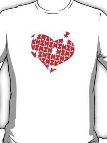 Heart Puzzle T-Shirt