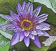 Sacred Blue Lotus by mrsbabs