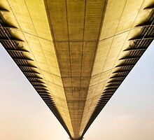 Humber Bridge (2) by Roy Griffiths