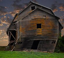 Crooked Barn by nwexposure